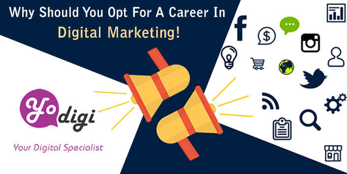 Why Should You Opt For A Career In Digital Marketing!