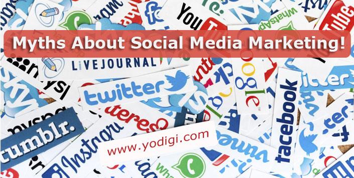 Myths About Social Media Marketing!