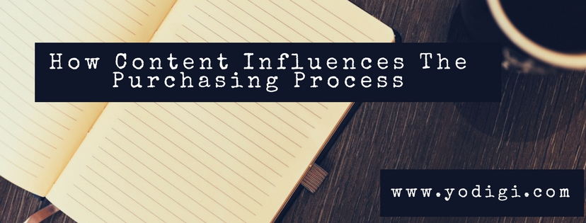 How Content Influences The Purchasing Process
