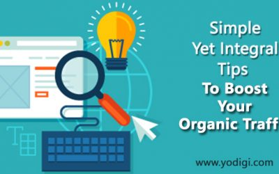 Simple Yet Integral Tips To Boost Your Organic Traffic